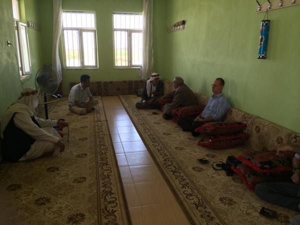 İl Müftü Vekili İbrahim Halil Okulu'dan Tır Şoförünün Ailesine Ziyaret