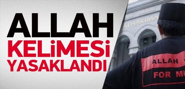 Malezya'da 'Allah' kelimesine yasak