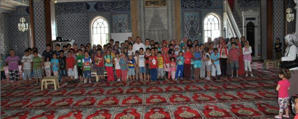 Manavgat Müftülüğü Yaz Kursu Açılışını Külliye Camiinde gerçekleştirdi.