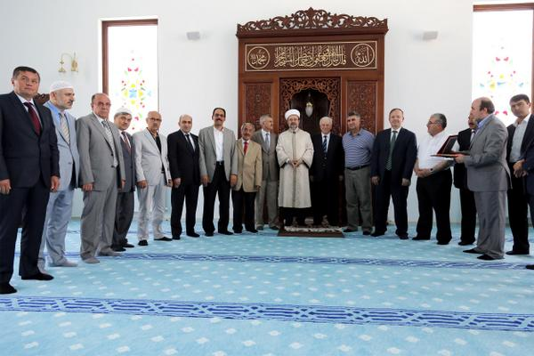 Gölbaşı Altungülkent Camii dualarla ibadete açıldı…