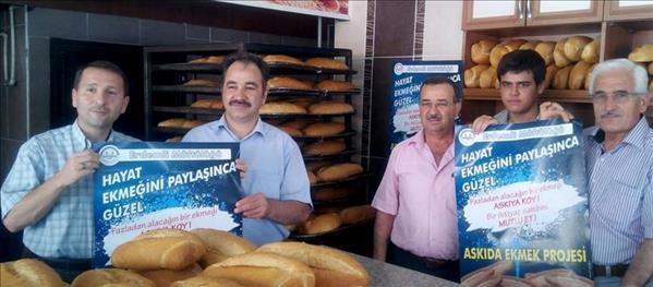 """Erdemli Müftülüğünden Ramazan'da """"Askıda Ekmek"""" Kampanyası"""