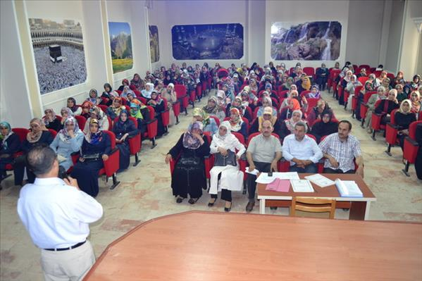 Erzincan'da Yaz Kursları Bayan Öğreticilerle, Değerlendirme Toplantısı Yapıldı