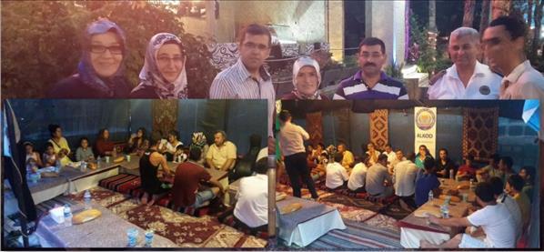 Alanya'da Kimsesizler Ramazan Meydanında
