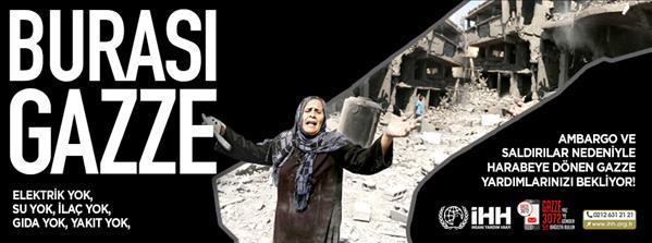 Ve Türkiye, Gazze için harekete geçti