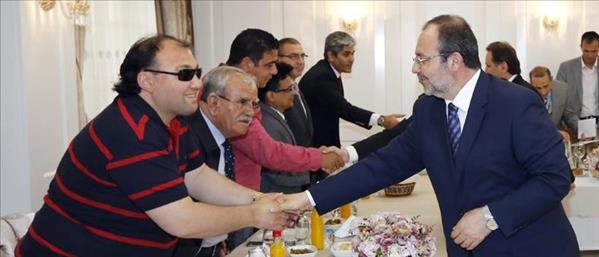 Başkan Görmez, üniversite camilerinde görev yapan imamlarla bir araya geldi
