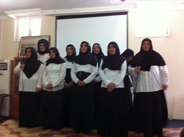 Sultangazi Ravza Kuran Kursu Kız Öğrencileri Kuranı Kerim İle Taçlandı