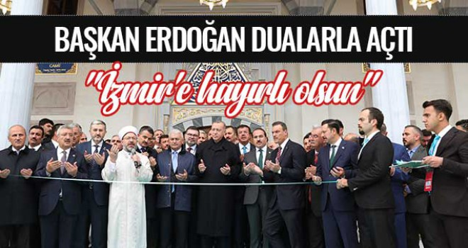 Ege Üniversitesi Bilal Saygılı Camii ve Külliyesi dualarla açıldı