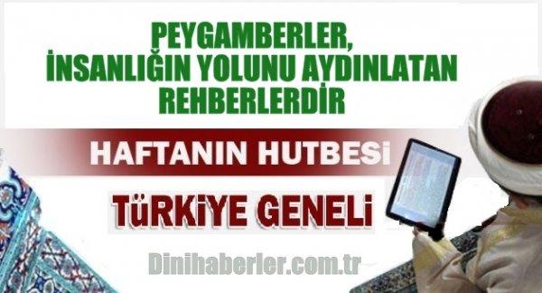 30.10.2015. Tarihli okunacak hutbe.. Turkiye Geneli