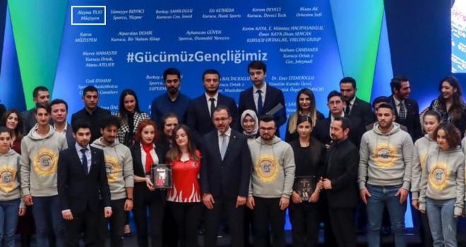 Aleyna Tilki 'İlham Veren Genç' seçildi