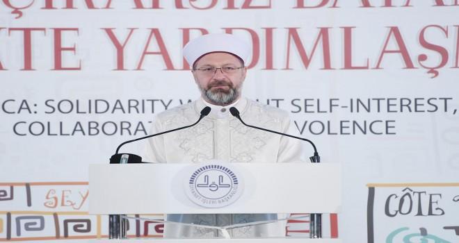 3. Afrika Ülkeleri Müslüman Dini Liderler Zirvesi İstanbul'da başladı
