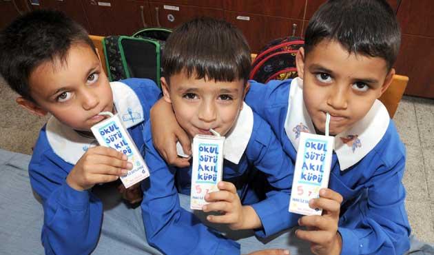 Okul sütü programı bu yıl da devam edecek
