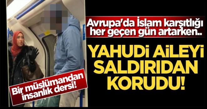 Bir müslümandan insanlık dersi