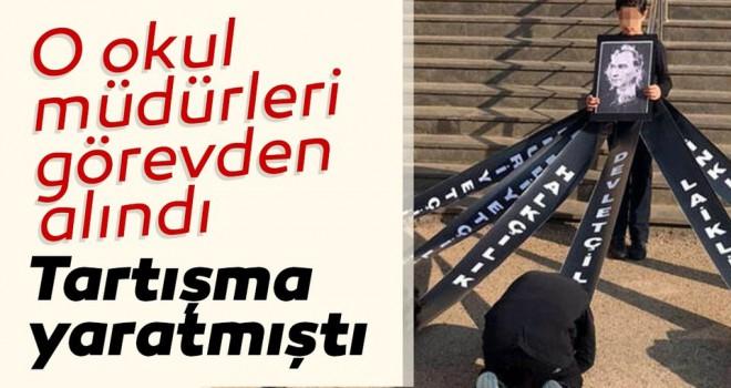 M. Kemal'e secde skandalının ardından MEB okul müdürlerini görevden uzaklaştırdı!
