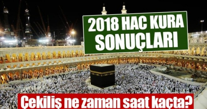 2018 HAC KURALARI BUGÜN