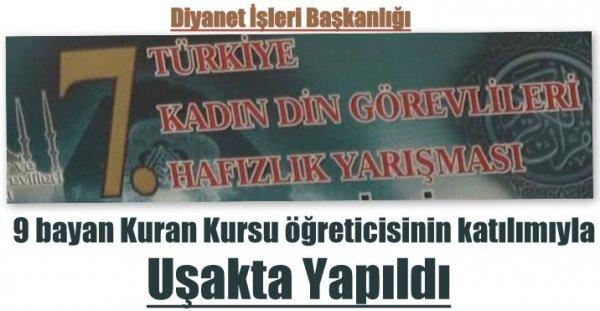 7. Türkiye Kadın Din Görevlileri Hafızlık Yarışması