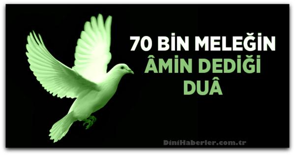 70 Bin Meleğin Duası