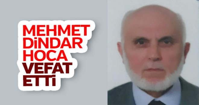 Mehmet Dindar Hoca Hakka Yürüdü
