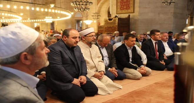 Diyanet İşleri Başkanı Erbaş, şehitler için düzenlenen programa katıldı