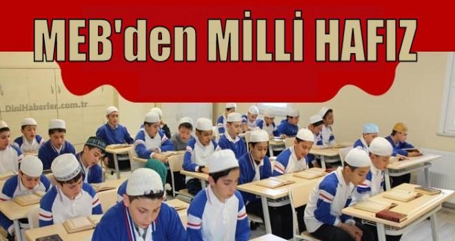 MEB'den Okullar'da Hafızlık Atağı