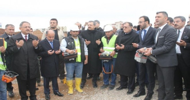 Şırnak'ın Silopi ilçesinde Kur'an kursunun temeli Atıldı
