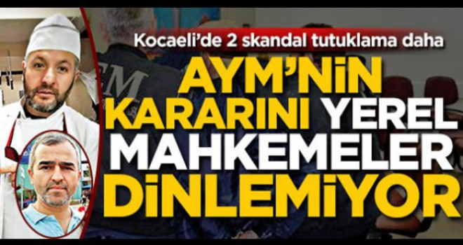 Kocaeli'nde 'skandal' tutuklama