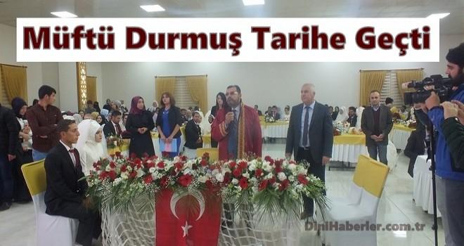 Türkiye'de ilk resmi Nikâh Bismil Müftüsü Ahmet Durmuş'dan