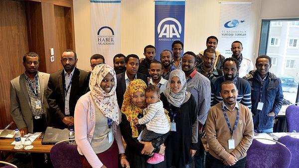 AA\'dan Etiyopyalı öğrencilere Uluslararası Habercilik Eğitimi