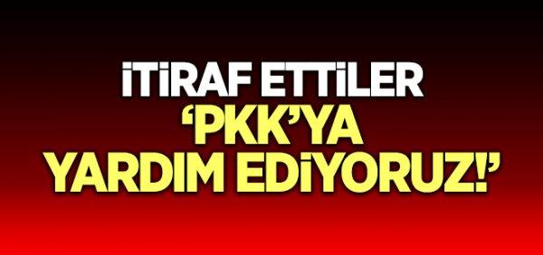 ABD'li komutan itiraf etti! PKK'ya yardım ediyoruz
