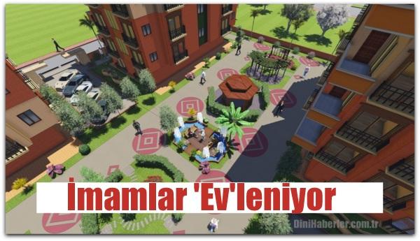 Adana Diyanet-Sen Üyelerine Ev İmkanı
