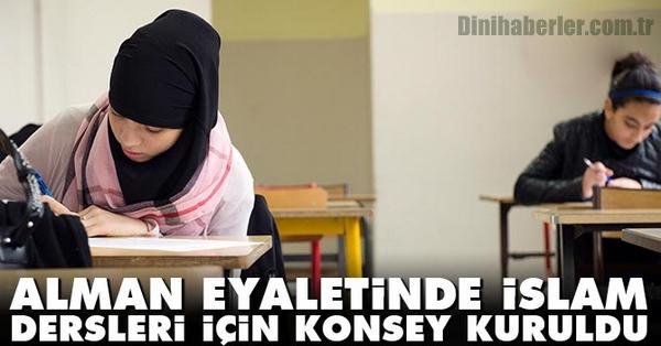 Alman eyaletinde İslam dersleri danışma konseyi kuruldu