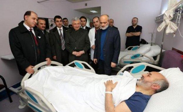 Amasya Müftüsü İpek, Trafik kazası geçirdi