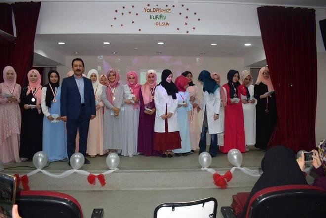 Anadolu Kız İmam Hatip Lisesinde Kur\'an Merasimi