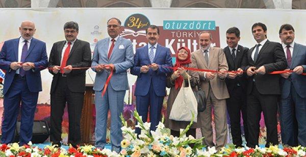Ankara 34. Türkiye Kitap ve Kültür Fuarı açıldı