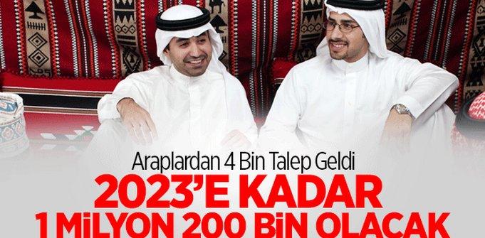 Araplar Çeşme Projesine Akın Etti