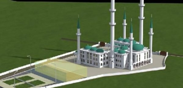 Avrupa'nın en büyük camii o ülkede inşa ediliyor