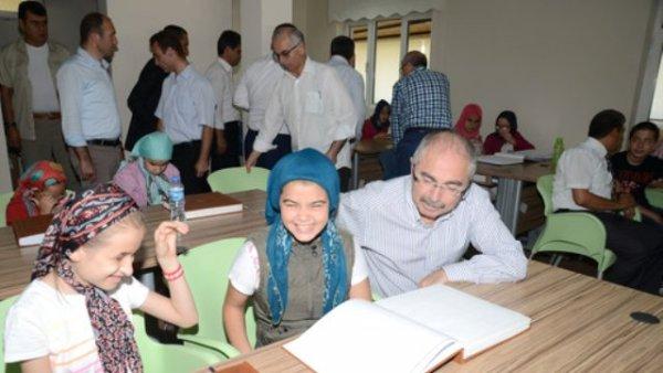 Balıkesir'de 12 görme engelli iki ayda Kur'ân okumayı öğrendi