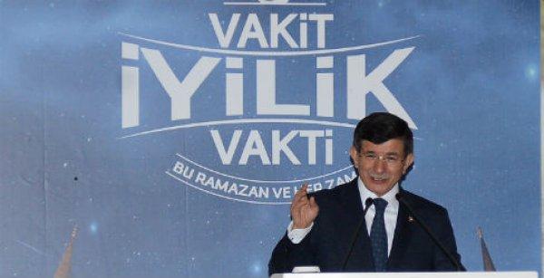 Başbakan Davutoğlu, İyilik Sofrası'nda