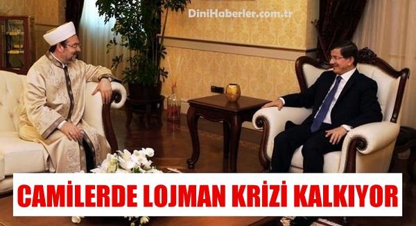 Başkan Görmez, Camilere Lojman Talep Ettik