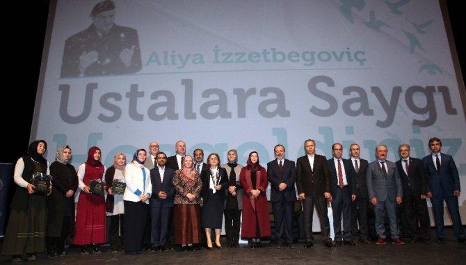 Başkan Görmez, \'Ustalara Saygı, Aliya İzzetbegoviç\'i Anma\' programına katıldı