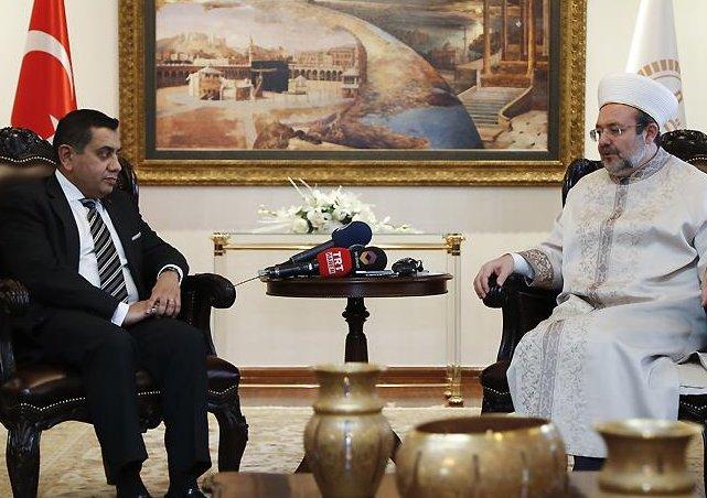 BKD Bakanı Lord Tarık Ahmed'den Diyanet'e ziyaret…