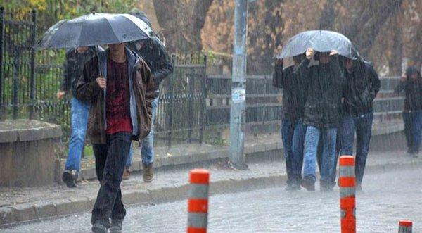 Bu illere kuvvetli yağış uyarısı