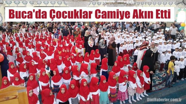 Buca\'da Çocuklar Camiye Akın Etti