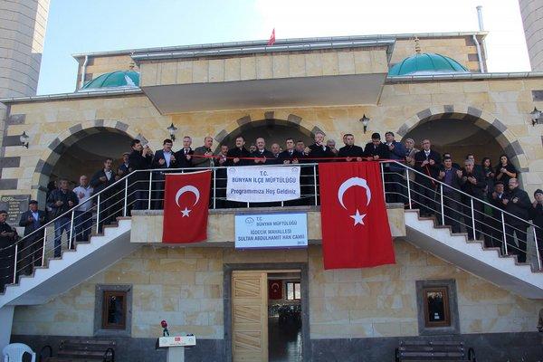 Bünyan Abdulhamit Han Camii İbadete Açıldı