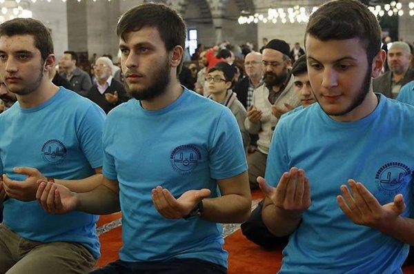 'Camiler ve Din Görevlileri Haftası', Süleymaniye Camiinde açılış programıyla başladı.