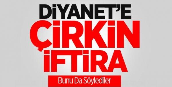CHP'li Vekilden Diyanet'e 'Çirkin İftira'