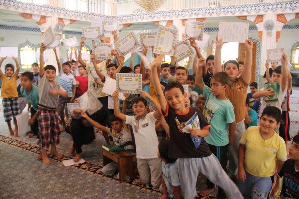 Çocuklardan Kur'an Kursları devamlı olsun talebi