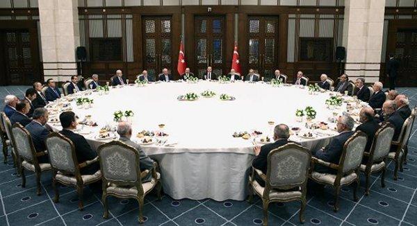 Cumhurbaşkanı Erdoğan'dan ilim adamlarına iftar…