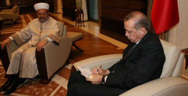 Cumhurbaşkanı Erdoğan'dan TDV'ye 7 hisse kurban bağışı