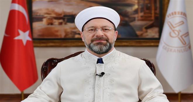 Diyanet İşleri Başkanı Erbaş'tan Muharrem ayı ve Kerbela Mesajı
