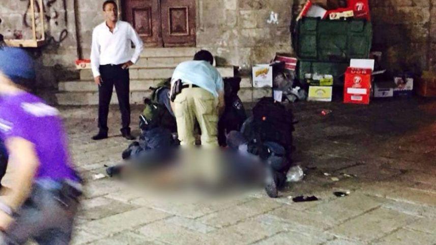 Kudüs'te üç İsrailli bıçaklandı, şüpheli Filistinli öldürüldü